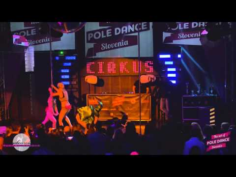 The Art of Pole Dance Slovenia 2015 (official video) - Tina&Jelena - Ghostbusters - Guest performer