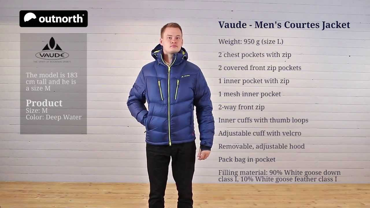 9b1cda96dd8c Vaude Men s Courtes Jacket