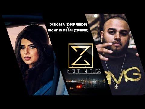 Is Song DESIGNER (Deep jandu) copied from NIGHT IN DUBAI(Zwirek)???