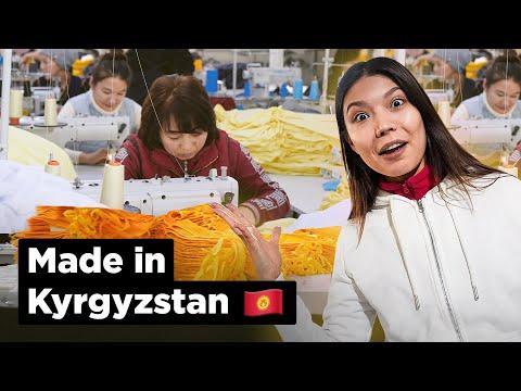 Где и как шьются вещи кыргызского производства?