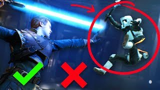 Why There Will Be NO Human Dismemberment in Star Wars Jedi Fallen Order