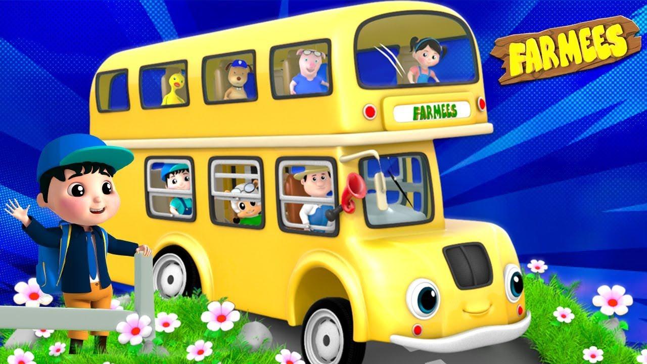 Ride On The School Bus | School Bus Goes Beep Beep | Nursery Rhymes & Kids Songs