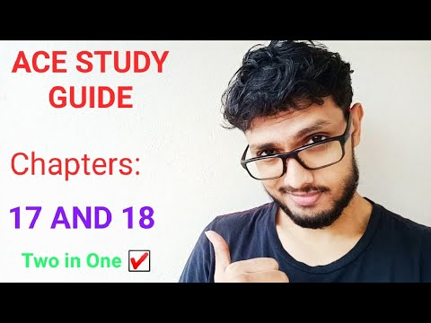 ACE CPT, STUDY-GUIDE Series ( Chapter 17 And 18 )