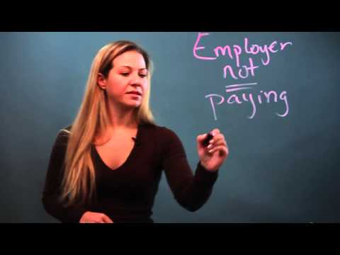 What Legal Actions Can I Take If My Employer Doesn't Pay Me?
