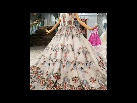 Dubai New Wedding Gown Bride Gown