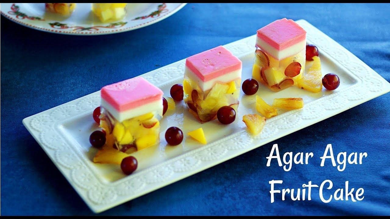 Jelly Cake Making: How To Make Agar Agar Jelly Cake
