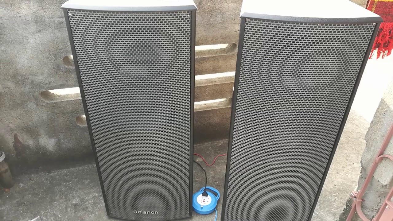 Clarion JM 12113 DJ box feel the bass & forget JBL