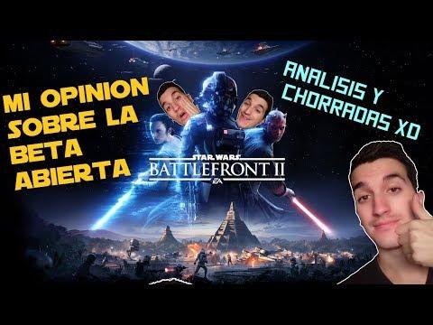ANALISIS y REVIEW- STAR WARS BATTLEFRONT 2 (Beta abierta)