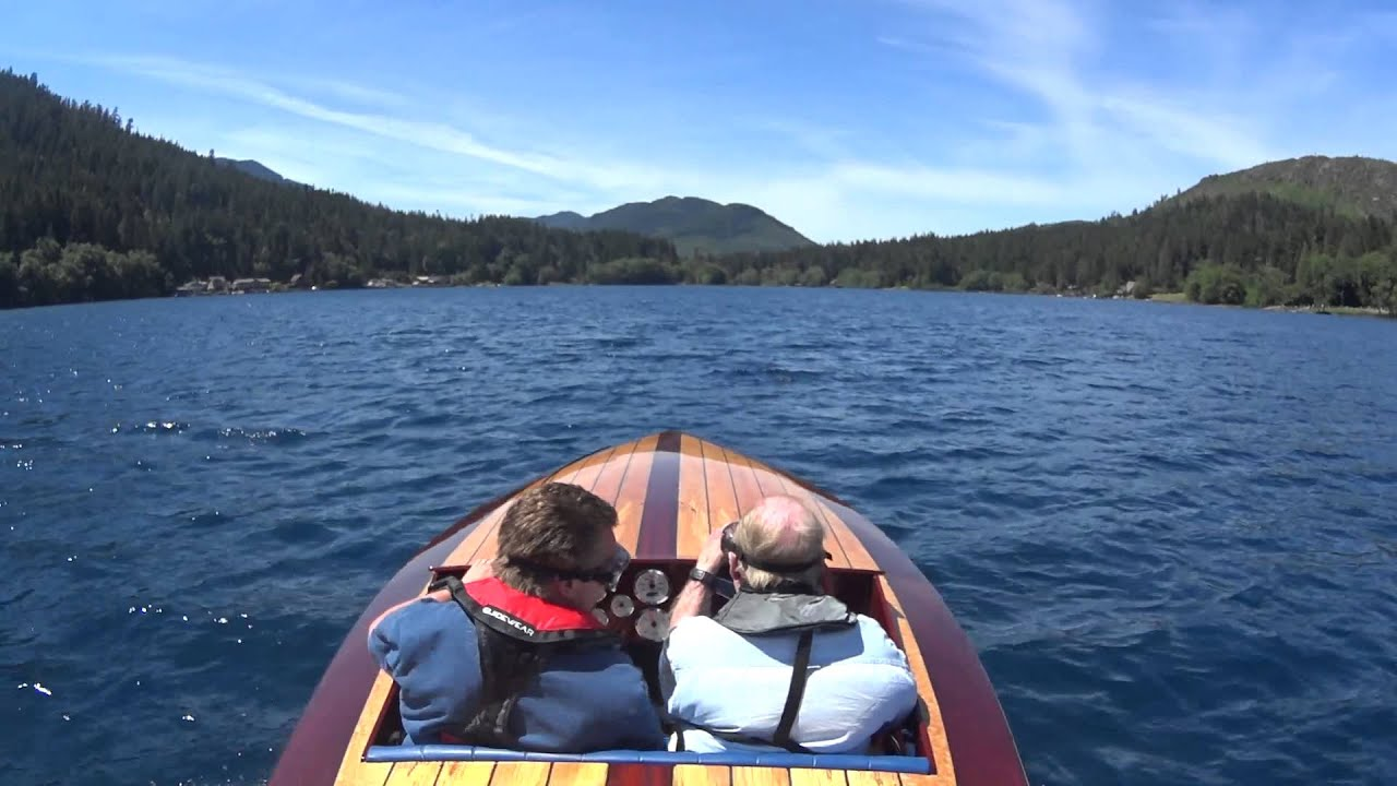 Rascal runabout devil 39 s punchbowl lake crescent wa youtube for Log cabin resort lago crescent wa