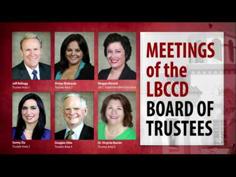 LBCCD - Board of Trustees Meeting - December 19, 2017