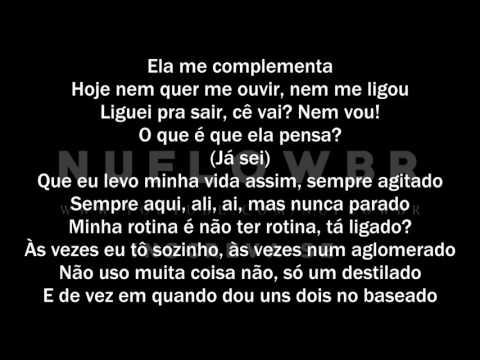 Rael da Rima - Não dá mais/Ela Me Faz (Letra)