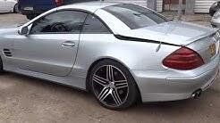 Mercedes-Benz SL500 avoauto, 2003 (ensirek.3/2003), 5,0 litraa, bensiini, ajettu vain 51452km