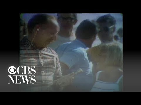 """Americans pack Florida beach for Apollo 11 launch: """"This is a dramatic point in history"""""""