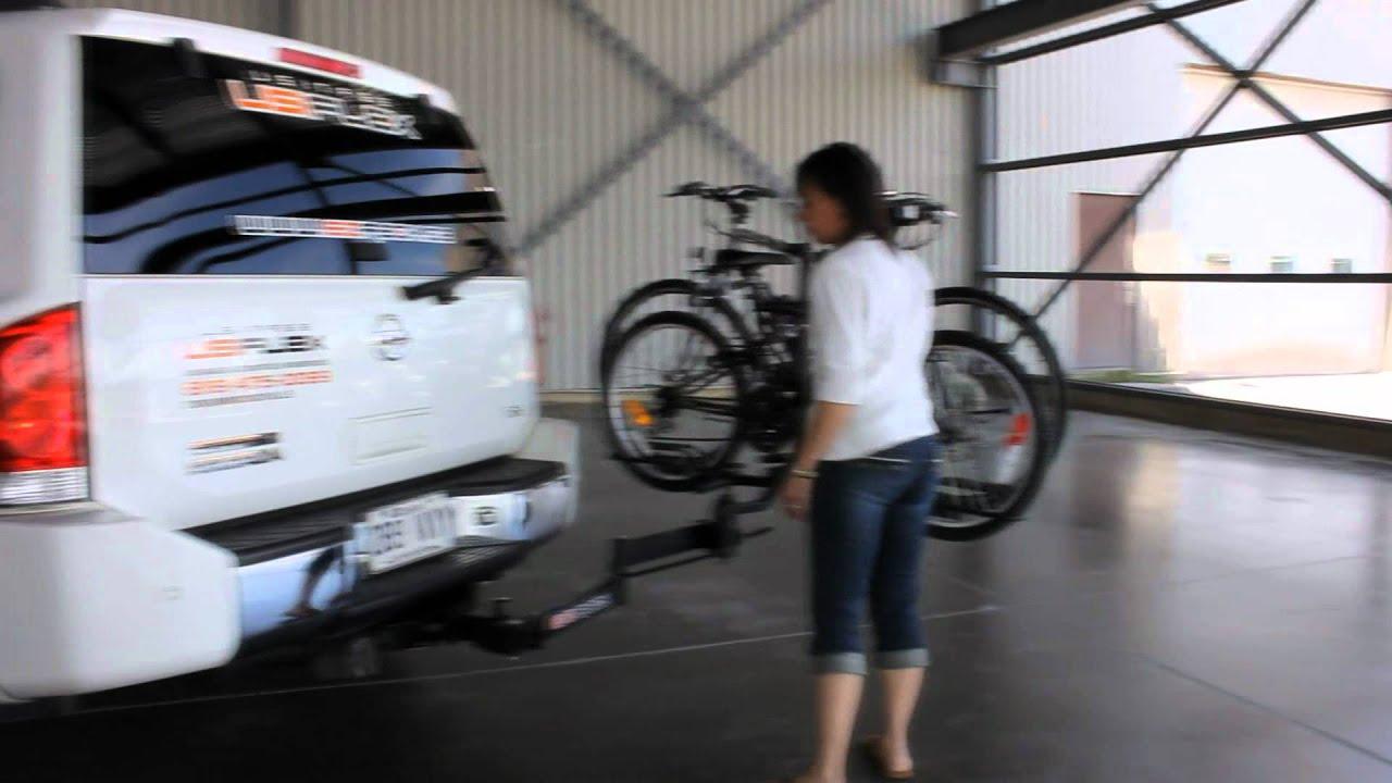 EZRACK Le support  vélo qui se déplace en moin de 10 secondes