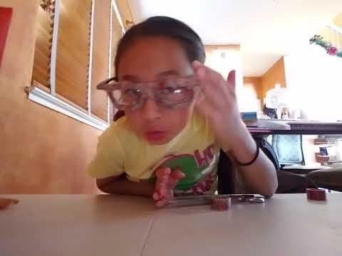DIY fake glasses