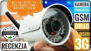 Jak monitorować dom i ogród? Kamera zewnętrzna GSM SIM WiFi HD ORLLO CAMSIM 3G Recenzja