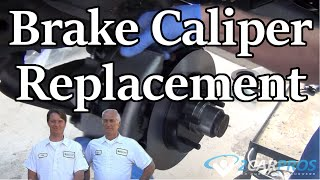 HOW TO REPLACE A BRAKE CALIPER CHEVY SUBURBAN 1992-1999