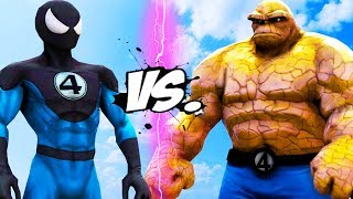 THE THING VS SPIDER-MAN (Fantastic Four)