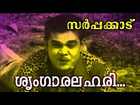 ശൃംഗാരലഹരി... | Malayalam Old Classic Movie | Sarppakadu | Video Song