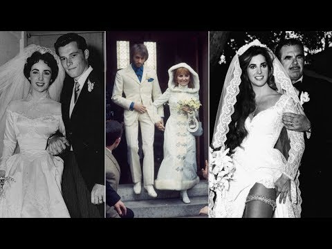 20 Aw-some Vintage Photos Of Celebrity Weddings From The 20th Century