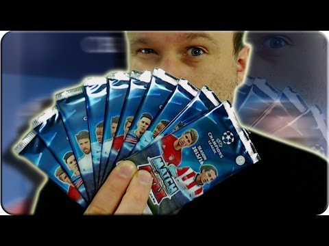 Match Attax CHAMPIONS LEAGUE 10 Booster Unboxing