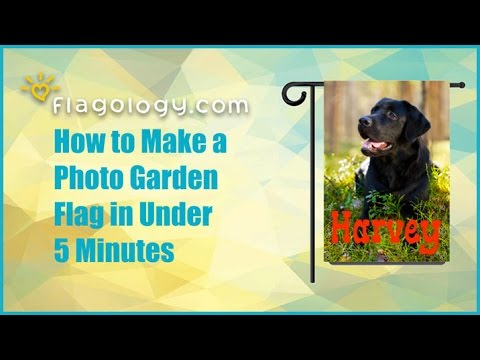 How to Make a Photo Flag in Under 5 Minutes