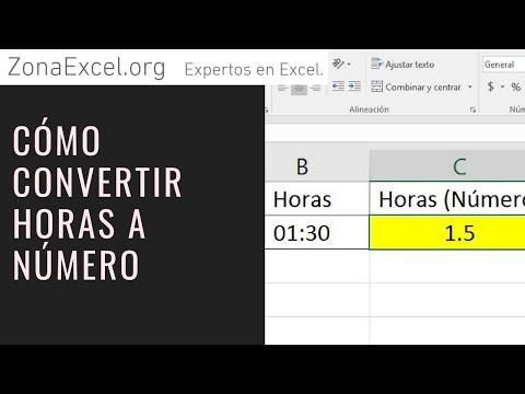 convertir-horas-a-numero,-formato-nÚmero.-truco.-ejemplo-sencillo---curso-excel