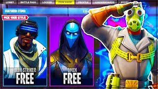 "*NEW* FREE SKIN PACK ""BLUE STRIKER"" DOWNLOAD IN FORTNITE! (Leaked Skins!) - Fortnite: Battle Royale"