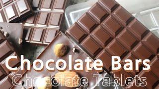 [홈베이킹] 초콜릿 타블릿 (가나초콜릿) Chocola…