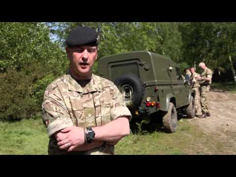REME Army Reserve Engineering Challenge Event Organiser Interview - S Sgt Goodall