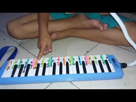 Not lagu indonesia raya menggunakan pianika