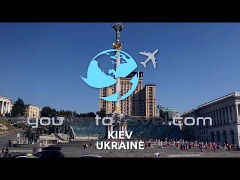 TRAVEL VLOG, Kiev, Ukraine 🇺🇦 | Kiev Tour | ®YouLikeToTravel.Com - OFFICIAL