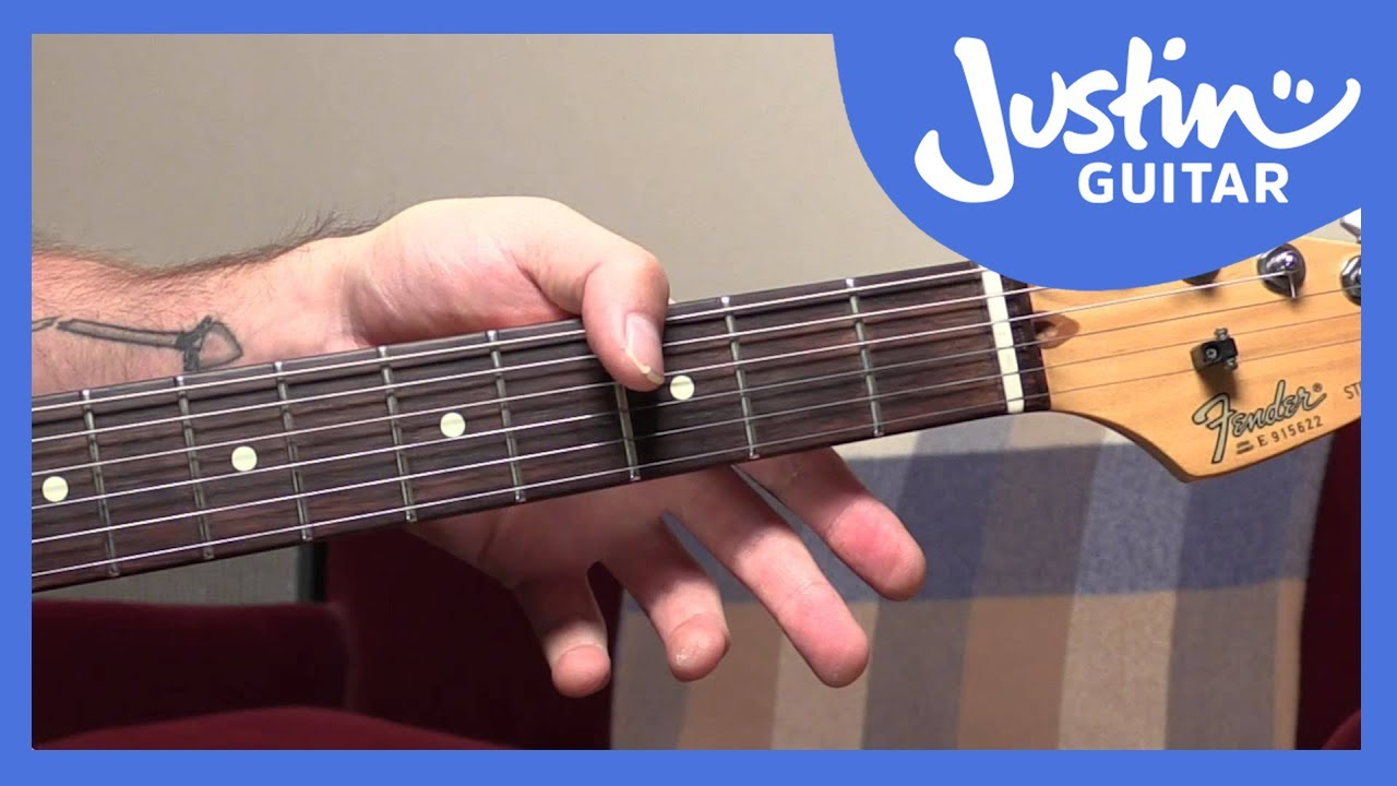 How To Use Your Thumb To Play Chord Bass Notes Jimi Hendrix Style