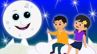 Chanda Mama Kitne Pyare | Hindi Bal Geet | Hindi Nursery Rhymes | Kids Rhymes | चंदा मामा