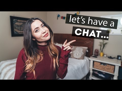 let's have a little chat