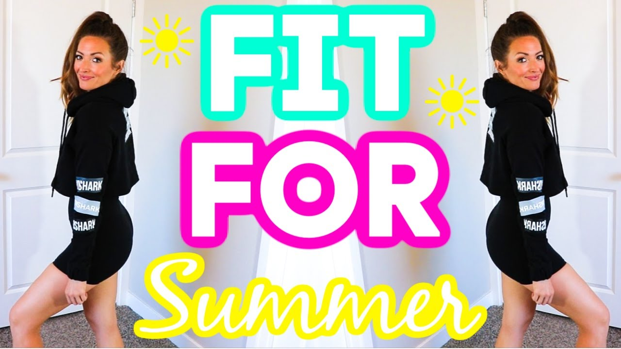 GET FIT FOR THE SUMMER ☀️ Workout Guides