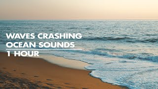 Shooting Ocean Sounds | Soothing Waves Crashing on Beach - 4k Nature Video