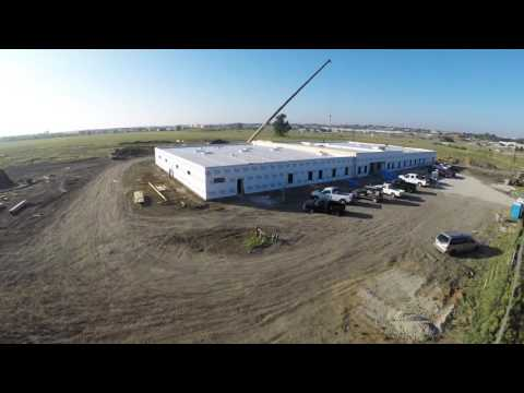 Floorless Permanent Modular Construction Timelapse of CCA Dallas Transitional Center