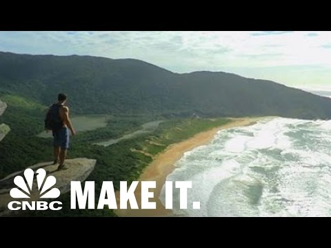 Brands Pay This Guy To Travel The World | CNBC Make It.