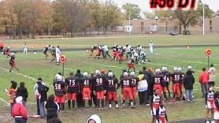Kenneth Amaker II #56 DT / G / LS Class of 2010 for Suitland H.S.