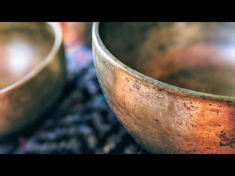 20 MINUTES Deep Relaxing Tibetan Singing Bowls