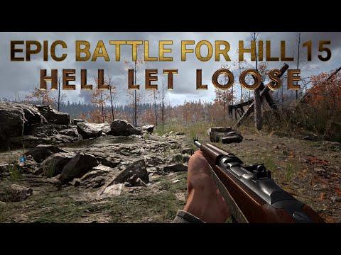 EPIC BATTLE FOR HILL 15 HÜRTGEN FORREST| HELL LET LOOSE |