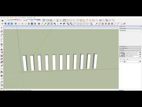 Hướng dẫn cài đặt template Sketchup và học các lệnh cơ bản cho người mới bắt đầu trong sketchup
