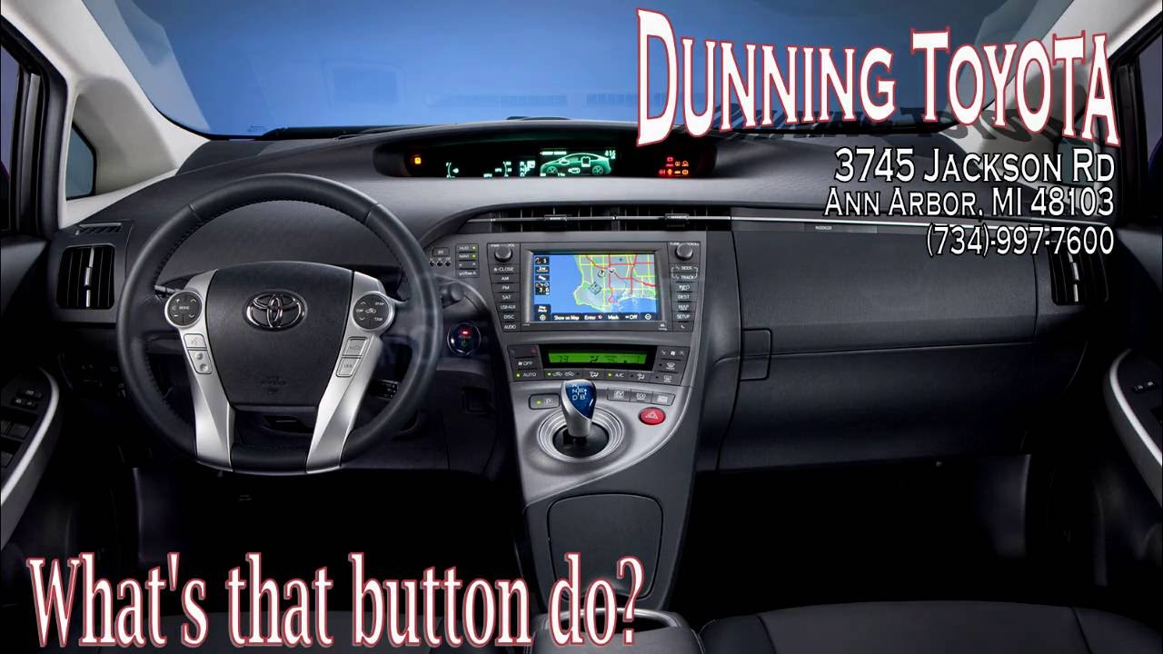 Whatu0027s That Button Do? Eco And EV Buttons. Dunning Toyota