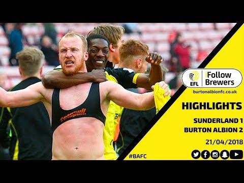 HIGHLIGHTS | Sunderland 1-2 Burton Albion