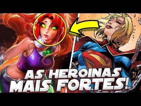 SUPER HEROINAS MAIS PODEROSAS DA DC COMICS