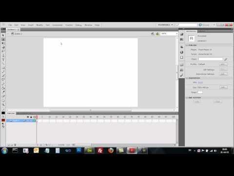Adobe Flash CS5 - הכירות עם פלאש - תוכנה ליציאת אנימציות פרסומות ומשחקים