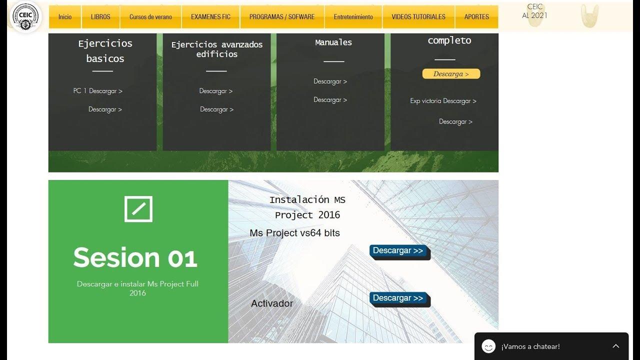 Ms Project 2016 full Descarga instalacion y a…