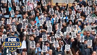 Napoli fans take powerful stand against racism