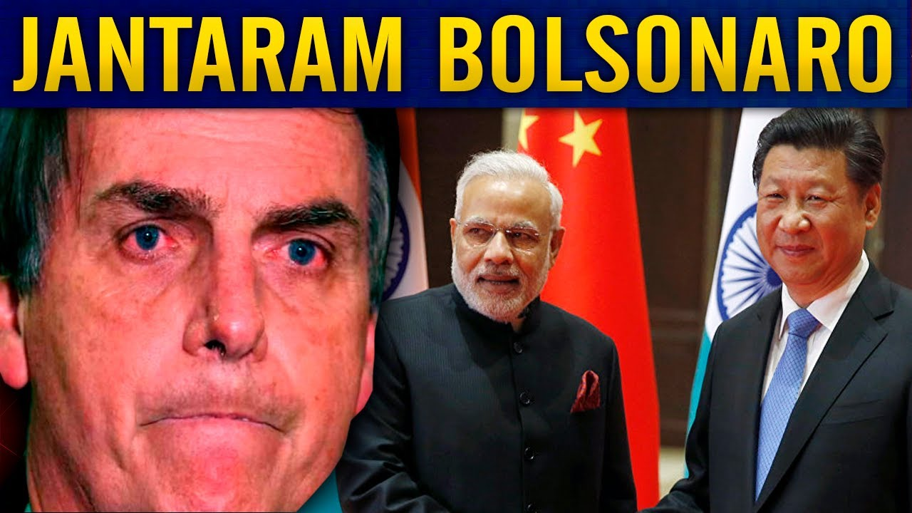 CHINA E ÍNDIA PISAM FORTE EM B0LSONARO!! HUMILHAD0 PUBLICAMENTE!!
